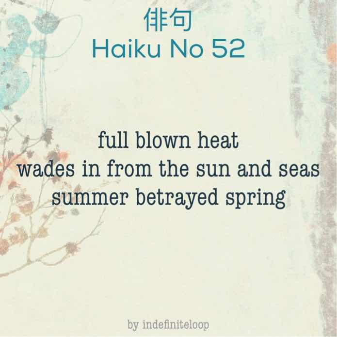 indefiniteloop.com - Haiku No. 52 - Spring Betrayed.