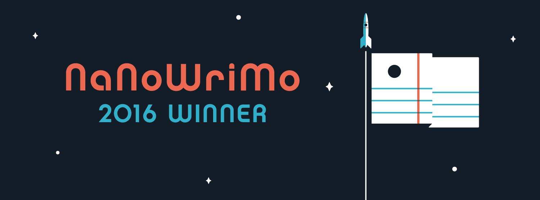 NaNoWriMo - Winner Winner Chicken Dinner - 22016