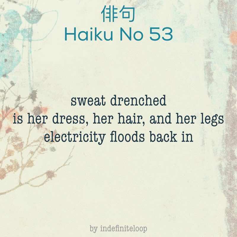 indefiniteloop.com - Haiku No. 53 - Electric Flow.