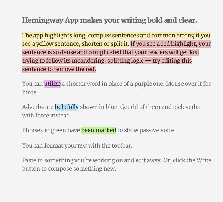 Free Writing Course