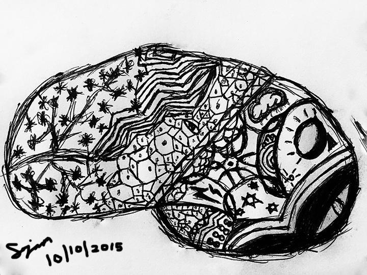 Brain Doodle - Inktober