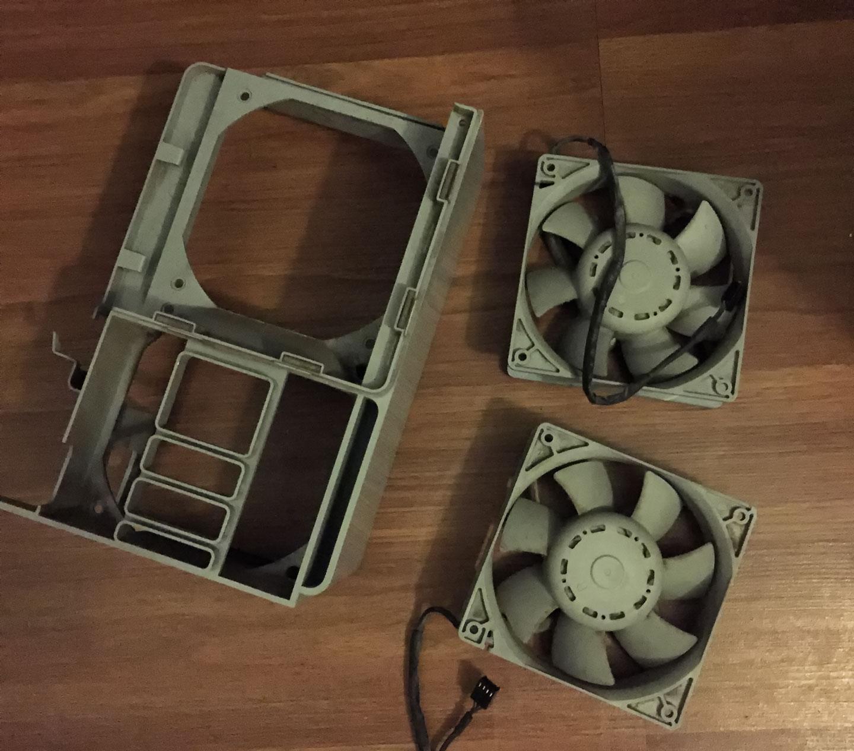 Mac Pro 3,1 Delta Fans - Front Fan Assembly