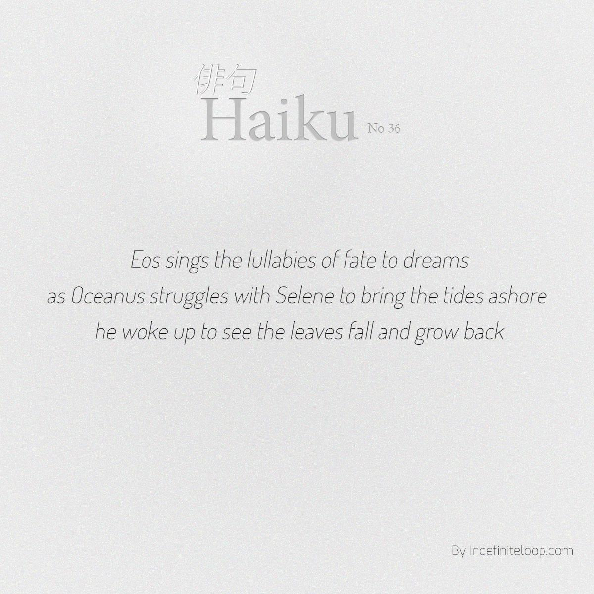 indefiniteloop.com - Haiku No. 36 - Ikigai.