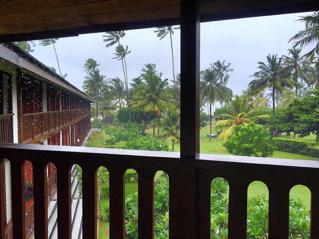 View From The Ensuite Balcony, Bentota Beach Hotel, Bentota, Sri Lanka.
