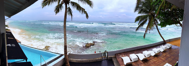 View From The Suite At The Cantaloupe Aqua, Unawatuna, Sri Lanka.