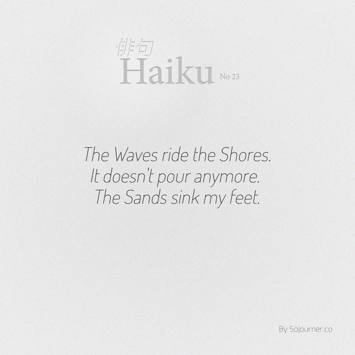 indefiniteloop.com - Haiku No. 23 - Shifting Sands.
