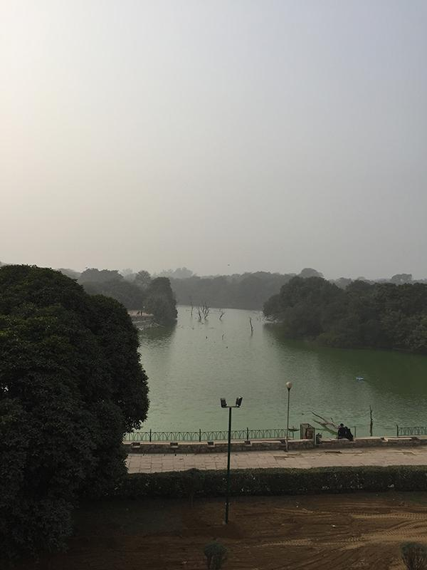 Delhi: Hauz Khas Lake