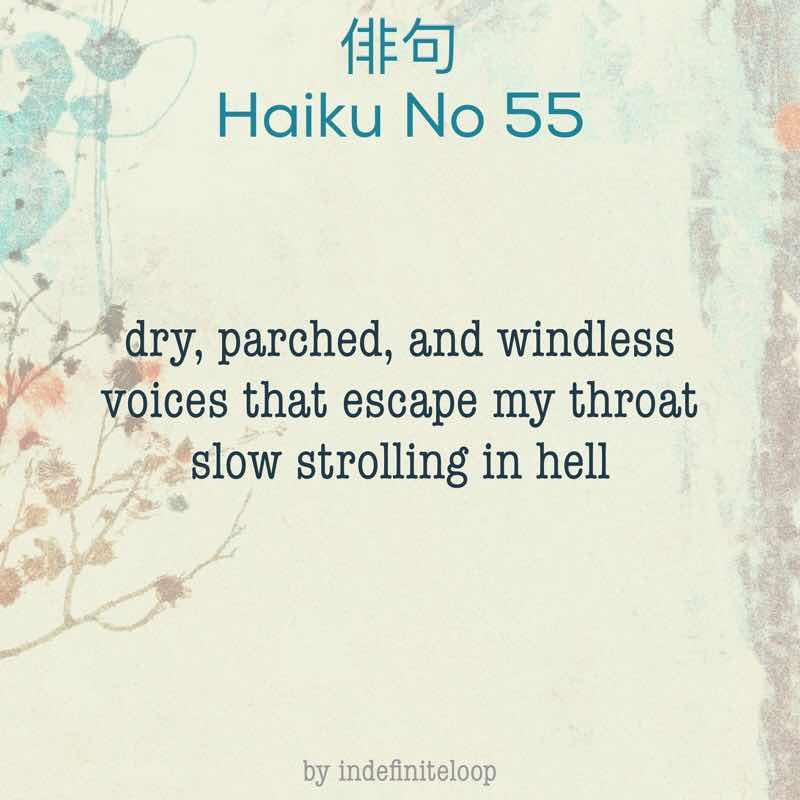 indefiniteloop.com - Haiku No. 55 - Strolling In Hell.