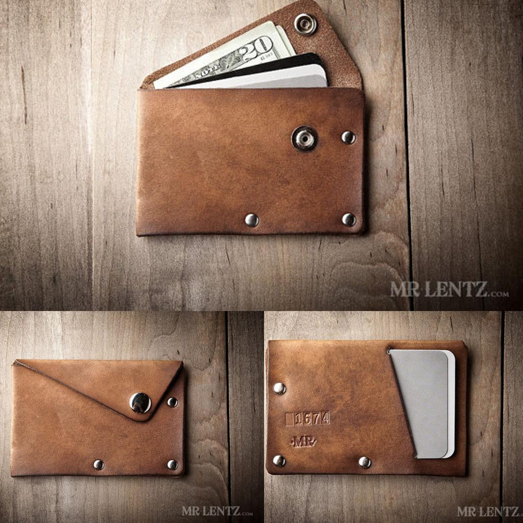10 Good & Awesomely Creative Leather Wallet Designs. - the ...