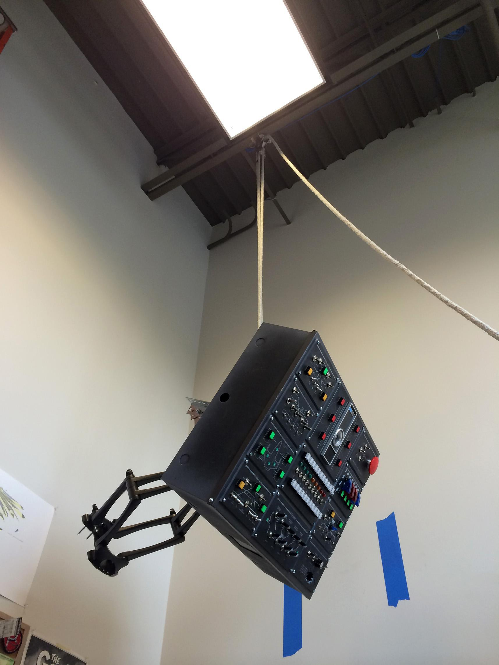 DIY Overhead Control Panel by /r/smashcuts