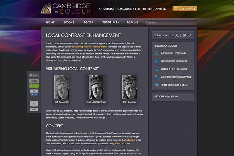 Cambridge in Colour - A Learning Community for Photographers
