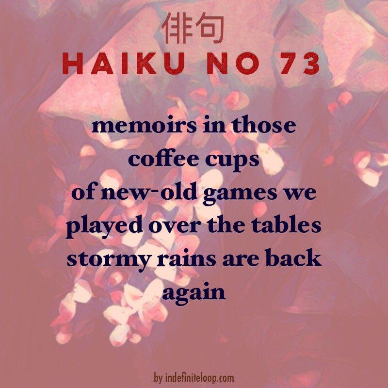 Haiku No. 73 - Dots, And Boxes.
